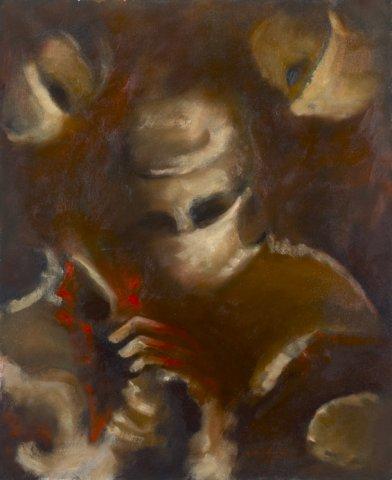 IL CHIRURGO, 1962  Olio su tela cm 50x60