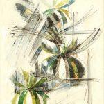 FUOCHI D'ARTIFICIO, 1968 Riporti fotografici, inchiostri su carta cm 50x70