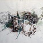 INGRANAGGI, 1968 Riporti fotografici, inchiostri su carta cm 70x50
