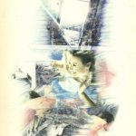 SALUTO, 1975 Riporti fotografici, matite colorate su carta cm 48x67