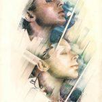 IL NEGATIVO E IL POSITIVO, 1987 Rip.fotografici e matite su carta cm 33x48