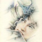 FERMARE IL TEMPO, 1991 Rip. fotografici e matite colorate su carta cm 33x50
