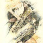 UN PO' DI MUSICA, 1991 Rip. fotografici e matite colorate su carta cm 50x70