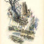 NEBBIA, 1991 Rip. fotografici e matite colorate su carta cm 50x70