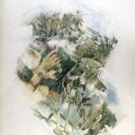 DOPO LA PIOGGIA, 1991 Rip. fotografici e matite colorate su carta cm 50x70