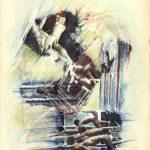 GARE, 1994 Rip. fotografici e matite colorate su carta cm 50x70