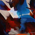 I TRE PORCELLINI, 2016 Olio su tela cm 70x100