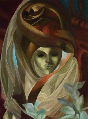 MALEFICA, 2015 Olio su tela cm 60x80