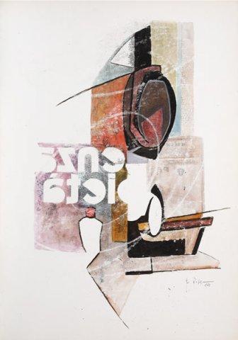 PIETA', 1969 Ripr. fotografiche e acquerelli su carta cm 50x70