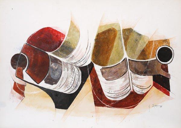 PROSECCO, 1968 Ripr. fotografiche, tempera e matite su carta cm 69x48