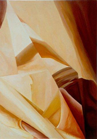 VELE, 1993 Olio su tela cm 50x70