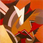 ALI, 1972  Acrilico su tavola cm 50x50