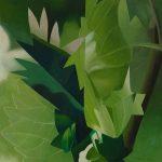 ANNUNCIO, 2012 Olio su tela cm 70x70
