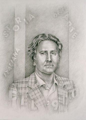 RITRATTO DI GIORGIO DI GENOVA, 2001 Matite su carta cm50x70