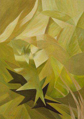 GERMOGLI, 2010 Olio su tela cm 50x70