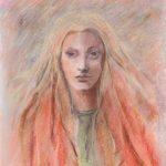 MARIA, 2014  Pastelli su carta cm 40x50