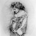 RITRATTO DI ELENA SOFIA RICCI, 1997 Matite su carta cm 50x70