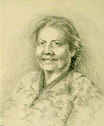 MIA MADRE, 1960 Matite su carta cm 35x50