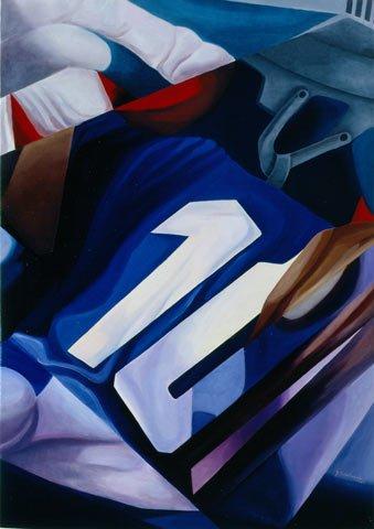 MISCHIA, 1989  Olio su tela  cm 70x100
