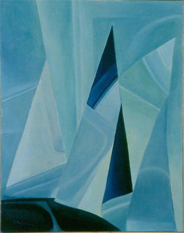 NEL MARE DEL NORD, 1996 Olio su tela cm 40x50