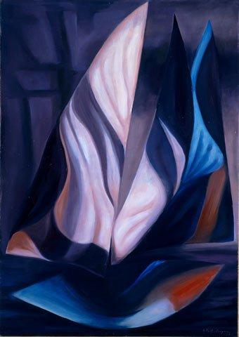 OMBRE, 1997 Olio su tela cm 70x100