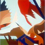PACE, 1976  Acrilico su tavola cm 90x90