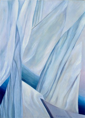 REGATA, 1995 Olio su tela cm 50x70