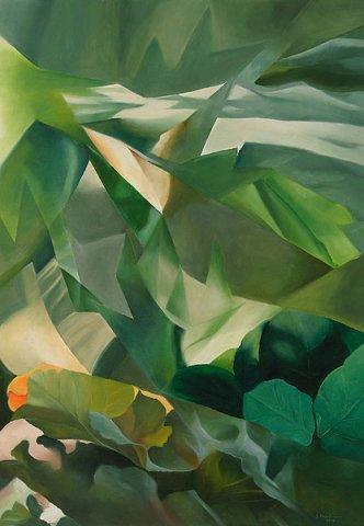 RISVEGLIO, 2012 Olio su tela cm 70x100