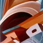 ROTAZIONE, 1988  Olio su tela cm 50x70