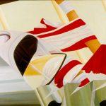 TRAGUARDO, 1988 Olio su tela cm 150x100