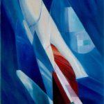 TRASPARENZE, 1997 Olio su tela cm 80x100