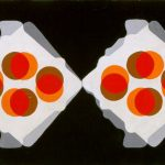UOVA, 1970     Acrilico su tela cm 50x40